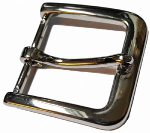 40mm Nickel Plated Steel Buckle XF1